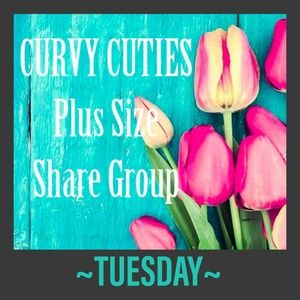 Tops - 5/14 (CLOSED) PLUS SHARE GROUP: Curvy Cuties